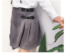 MME3654  Girls A-line Skirt with Buckle (Moms Size Avail)