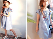 MME3699 Embroidered Floral Dress (Mom Sizes avail)