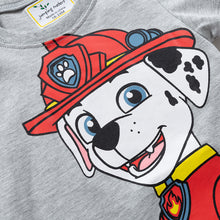 JB020 Toddler Boys Grey paw Patrol Tee T-shirt Top
