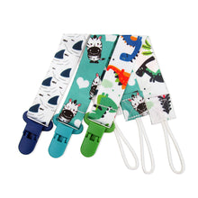 Zootime Set of 3 Baby Pacifier Clips Leases Toy Holders