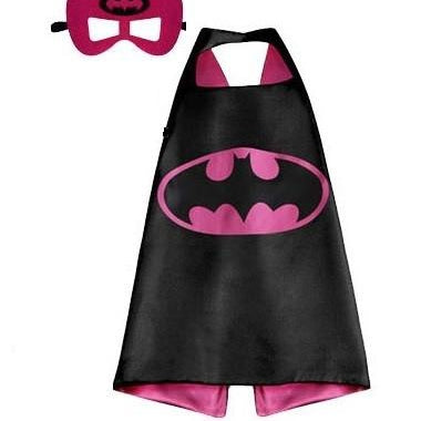 Superhero Cape & Mask - Batgirl