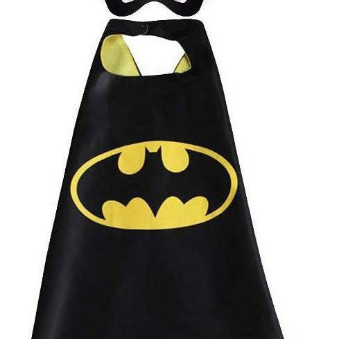 Superhero Cape & Mask - Batman