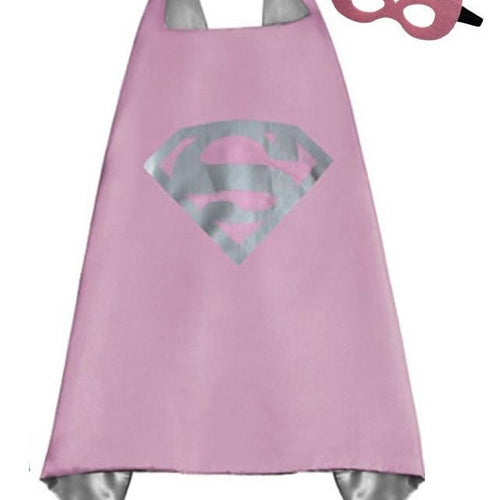Superhero Cape & Mask - Supergirl
