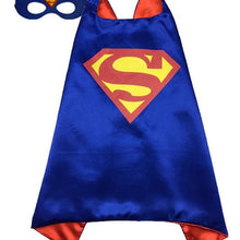 Superhero Cape & Mask - Superman