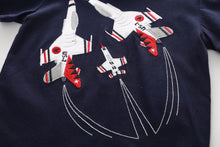 JB017 New Boys Fighter Jet Tee T-shirt Top