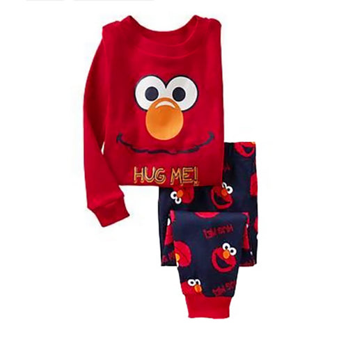 KOR098 Toddler Kids Pajamas PJs Sleepwear - Elmo 201665c00