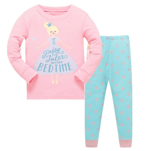 KOR108 Toddler Kids Pajamas PJs Sleepwear - Princess 46931128f