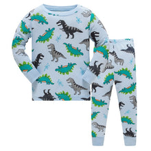 KOR121 Toddler Kids Pajamas PJs Sleepwear - Dinosaurs