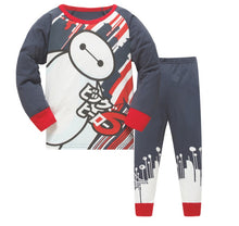 KOR126 Toddler Kids Pajamas PJs Sleepwear - Baymax