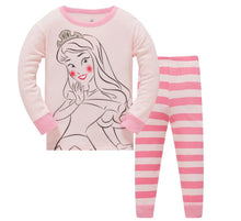 KOR145  Toddler Kids Pajamas PJs Sleepwear - Blushing Princess
