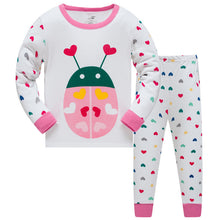KOR146  Toddler Kids Pajamas PJs Sleepwear - Love Bug
