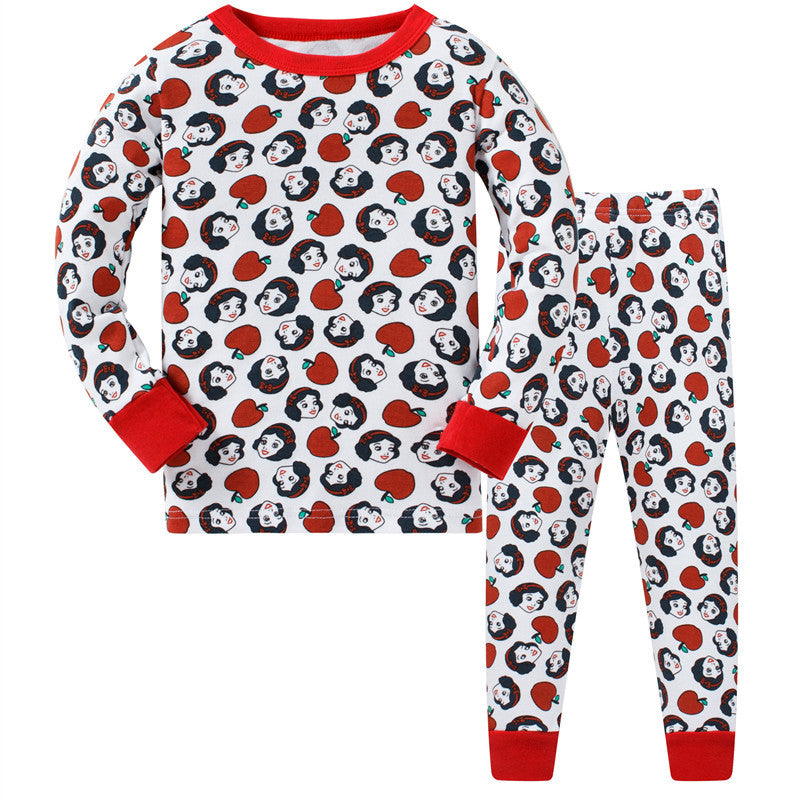 KOR157 Toddler Kids Pajamas PJs Sleepwear - Snow White