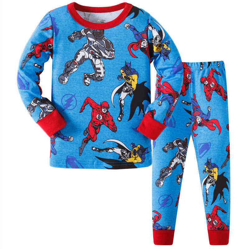 KOR159 Toddler Kids Pajamas PJs Sleepwear - Superheros