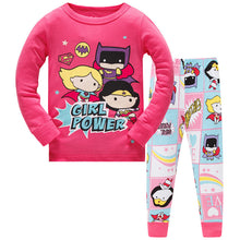 KOR163 Toddler Kids Pajamas PJs Sleepwear - Girl Power