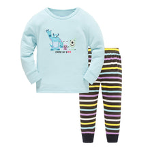 KOR139 Toddler Kids Pajamas PJs Sleepwear - Monster Inc II