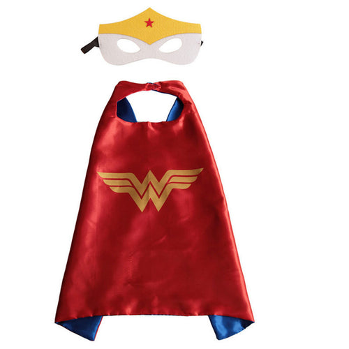 Superhero Cape & Mask - Wonder Woman