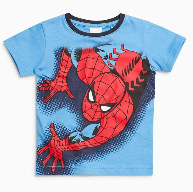 LM040 Boys Spiderman Tee