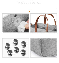 Baby Diaper Caddy Organizer Portable Holder Shower Basket Portable Nursery