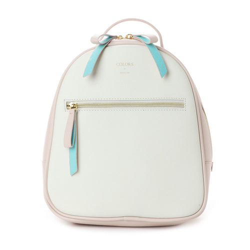 MMB07 Mini Duo Color Backpack Cream Pink