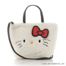 MMB12 Hello Kitty Furry Sling Bag