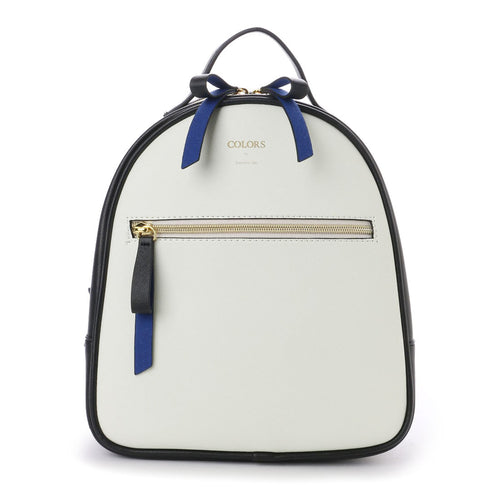 MMB07 Mini Duo Color Backpack Cream Black