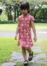 CS060 Girls Traditional Chinese Dress Cheongsam Qipao - Patchwork Birdie