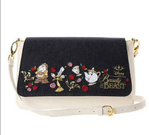 MMB10 Beauty and The Beast Shoulder Bag