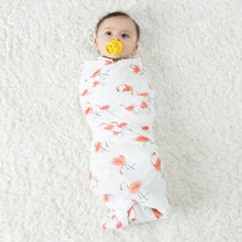 CH009 Infant Muslin Swaddle - Flamingoes