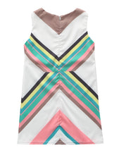 MK003 Mom & Me Chevron Shift Dress (1-5Y / Mom)