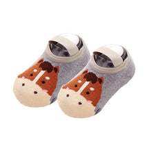 SOC007 New Baby Boy Girl Animal Socks 1-3 yrs
