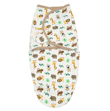 SW021 Infant Swaddle Cotton Knit - Animals
