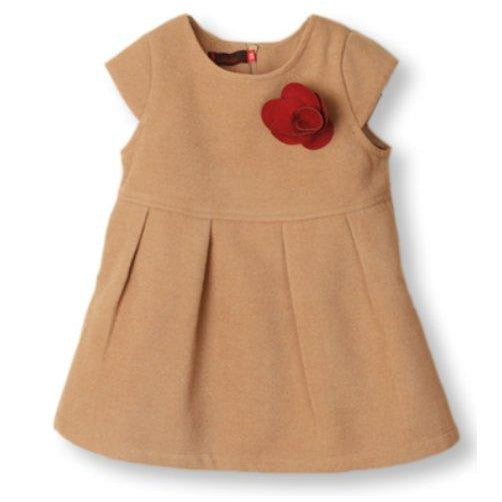 EUR010 Girls Cap Sleeve Dress