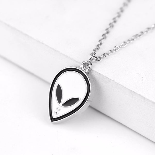 Beautiful Alien Charm Necklace For The Alien Lovers Out There