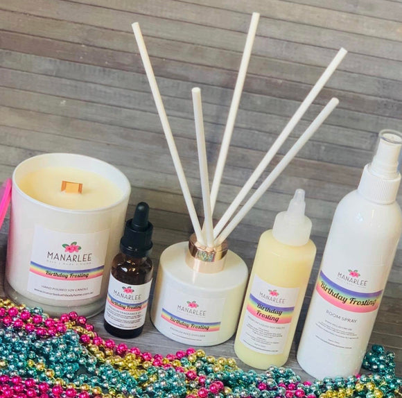 Premium Reed Diffuser- Birthday Frosting