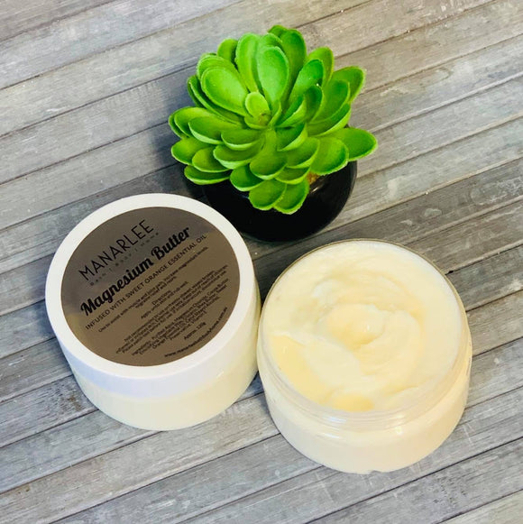 Magnesium Butter - Infused with Sweet Orange Essential Oil