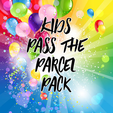 Kids Pass the Parcel Pack- 10pk