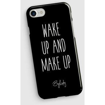 Wake Up Make Up Iphone Case