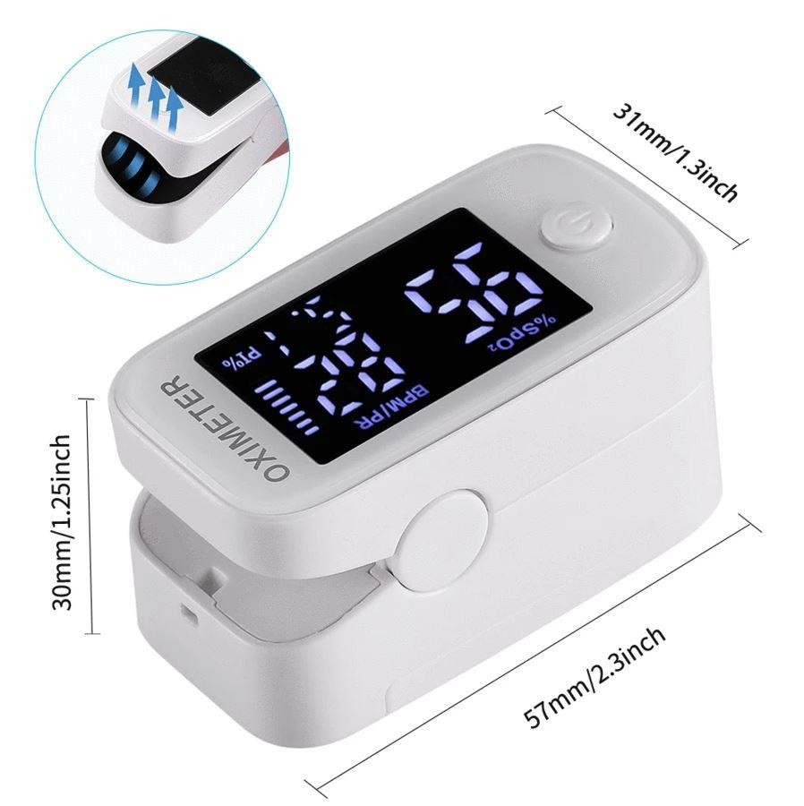 【2020 Upgrade Best Version】Fingertip Pulse Oximeter
