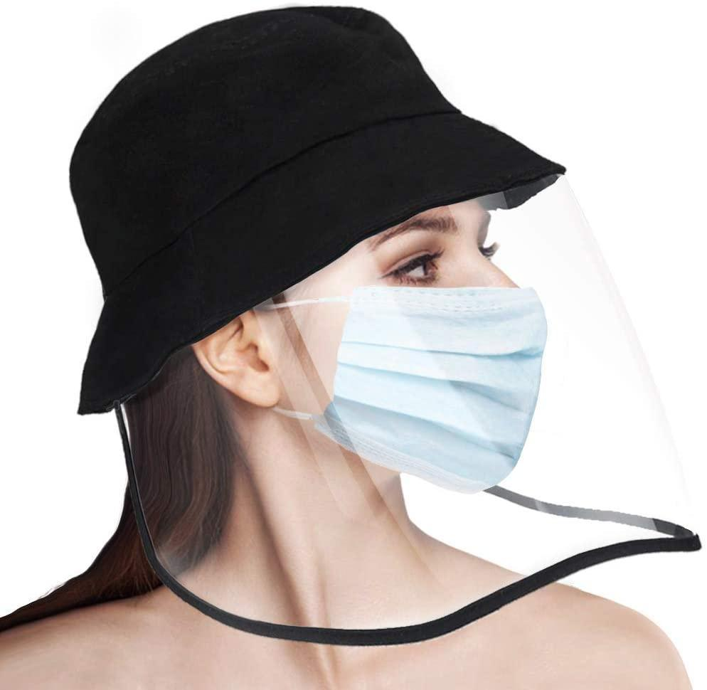 Reusable Face Shield Hat