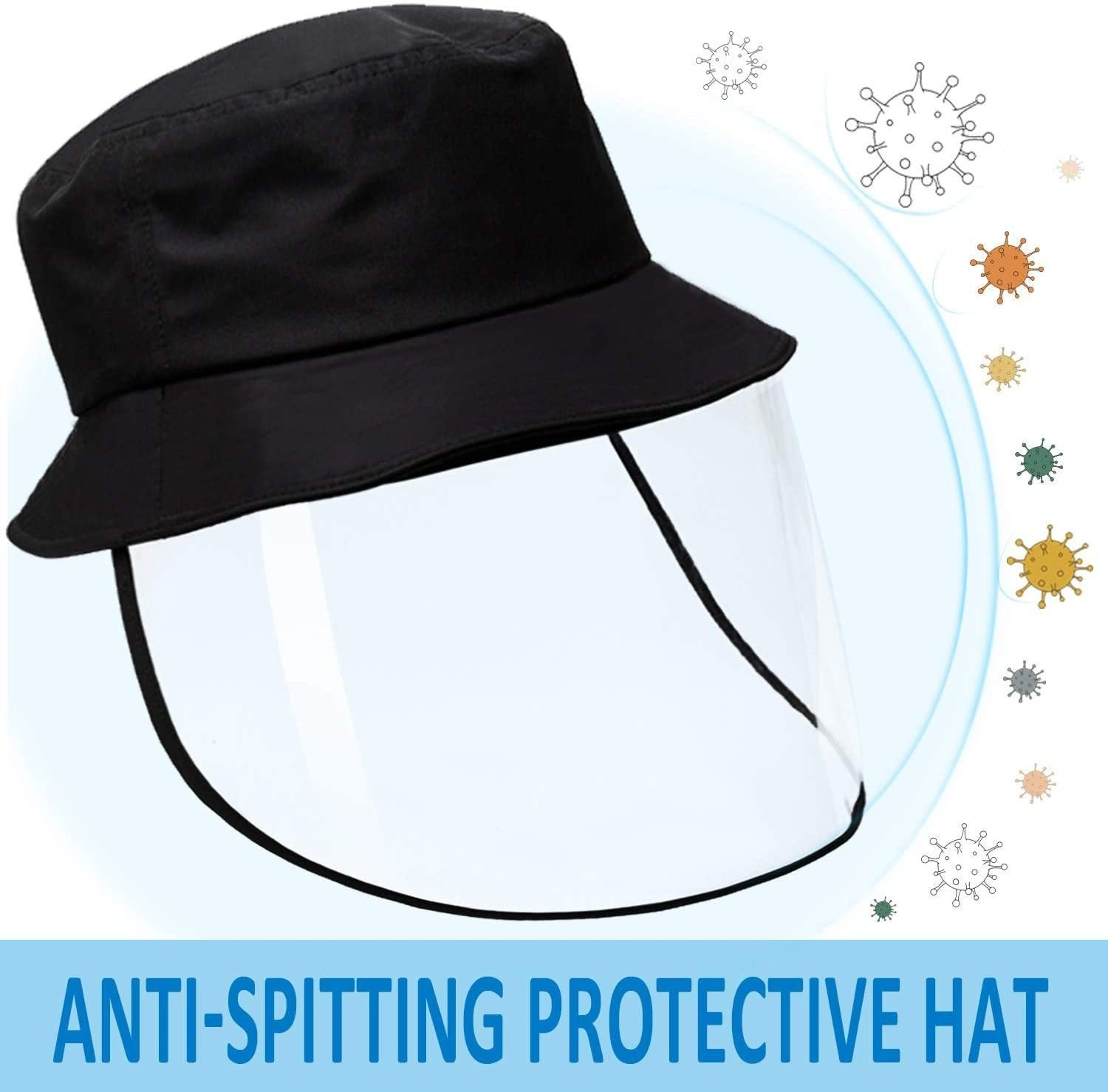 NEW 2020 HD Transparent Shield Hat - Reusable