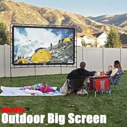 WIDEFLIX™ OUTDOOR BIG SCREEN