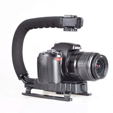 ActionGrip Professional DSLR Stabilizer with Universal Hot Shoe Video & Camera SmartGear Factory