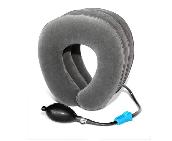 AirNeck360™ Inflatable Neck Traction Pillow Health & Wellness SmartGear Factory