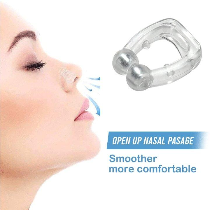 itsgenie.com-Anti Snore Magnetic Nose Clip-Anti Snore Magnetic Nose Clip