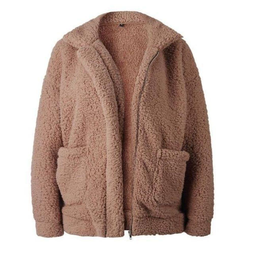 itsgenie.com-Cozy Teddy Bear Jacket-Cozy Teddy Bear Jacket