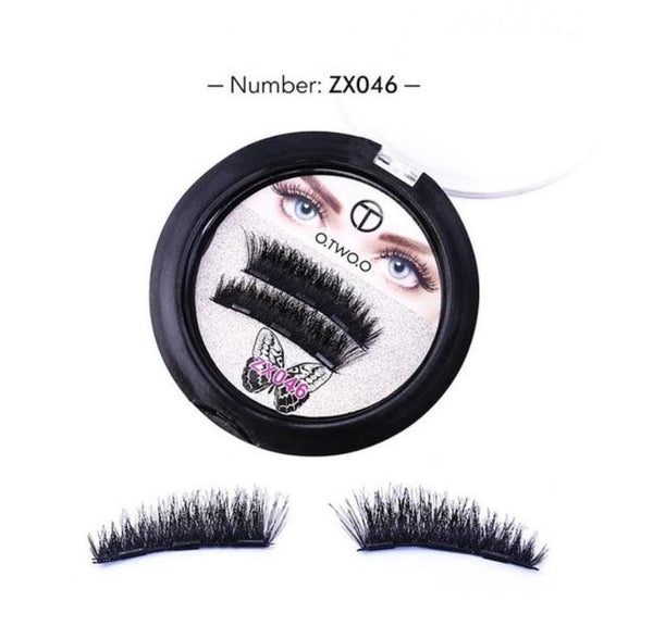 Handmade Natural Magnetic Eyelashes - Pack 4 PCS Makeup & Beauty SleekMagic