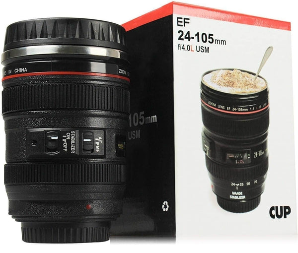 Kreative Camera Lens Coffee Mug 12 ounces (350 mL) Original Gift SmartGear Factory