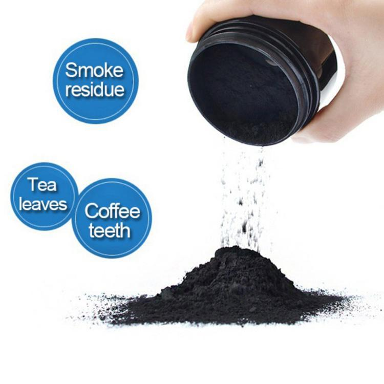 VANITYPLEX-Natural Coconut Activated Charcoal Teeth Whitener-Natural Coconut Activated Charcoal Teeth Whitener