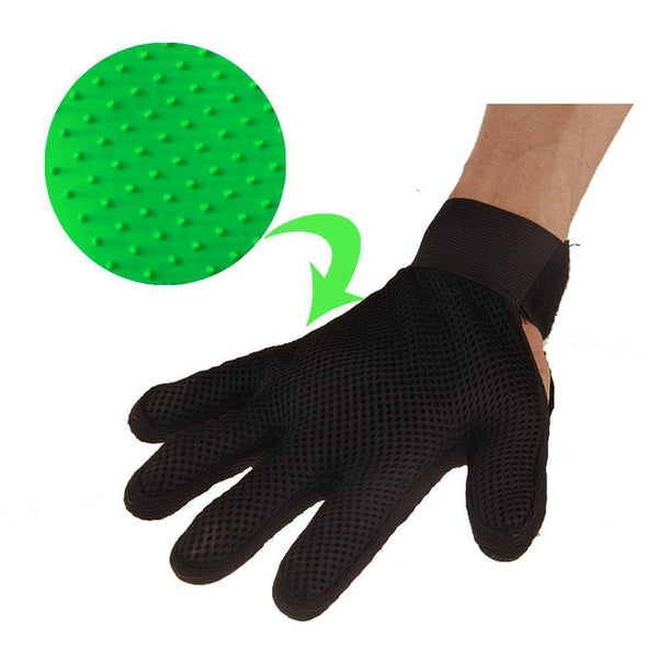 One Size Pet Grooming Glove 255 Knobs Pet Supply SmartGear Factory
