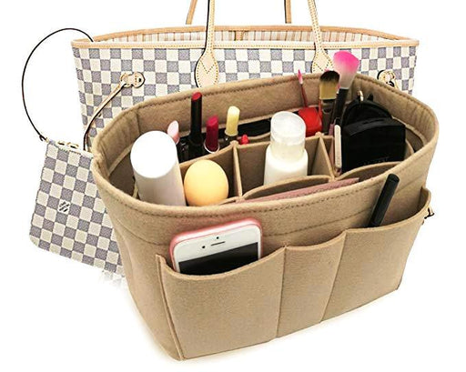 Secret Handbag Insert Organizer with 12 Pockets Bag & Backpack SmartGear Factory
